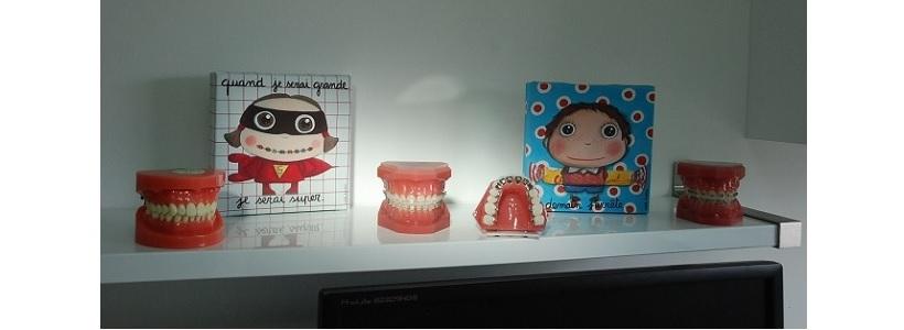 présentoir des dentoformes